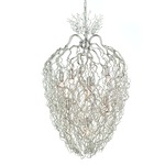 Hollywood Conical Chandelier - Nickel
