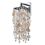 Cityscape Wall Light - Silver Pearl /