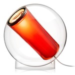 Bel Occhio Table Lamp - Orange / Clear