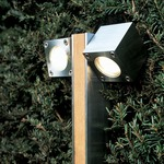 Q-Bic Dual Head Outdoor Bollard -  /