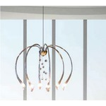 Chill Out Arms Down Suspension with Crystal Balls - Satin Brass / Crystal