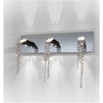 Beauty of Silence Wall Light - Chrome / Crystal