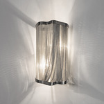 Atlantis Small Wall Sconce - Nickel /