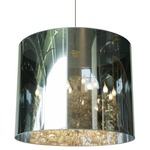 Light Shade Pendant - Chrome / Transparent Mirror