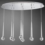 Micro 9 Light LED Multi Pendant Suspension