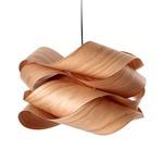 Link Suspension - Nickel / Cherry Wood