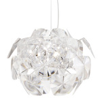 Hope 24 Suspension - Polished Stainless Steel / Transparent