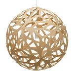 Floral Pendant - Bamboo / Caramel