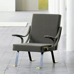 Digamma Armchair - Gray