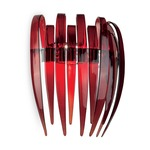 Dracena P60 Wall Lamp - Polished Chrome / Red