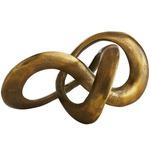 Quinn Sculpture - Antique Brass