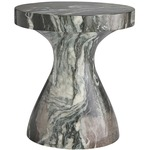 Serafina Accent Table - Verde Faux Marble