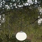 Elipse Outdoor Pendant - White / White
