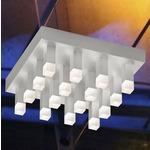 Connetix Surface Mount - Satin Aluminum / White