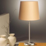 Illuminator 6263 Table Lamp - Satin Nickel / Kupfer