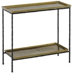 Boyles Side Table - Antique Brass