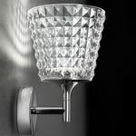 Valentina Wall Light - Chrome / Crystal