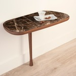 Mesita Medium Table - Walnut / Marble