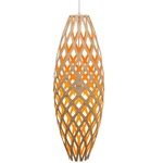 Hinaki Pendant - Bamboo / Natural / Orange