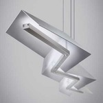 Jorn Linear Suspension - Satin Nickel /