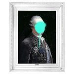 Monsieur Mint Canvas - White