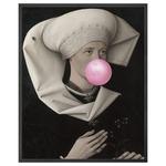 Bubblegum 2 Canvas - Black