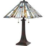 Maybeck Short Table Lamp - Valiant Bronze / Tiffany