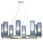 Rock Candy 8-light Chandelier