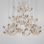 Volare 25 Light Round Chandelier