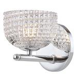 Sabrina Wall Light - Polished Chrome / Clear
