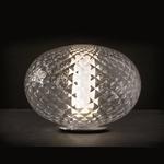 Recuerdo Table Lamp - Chrome / Transparent