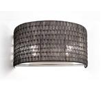 2 Light Wall Sconce -  / Black Nickel Weave