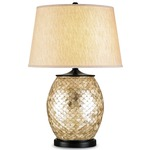 Alfresco Table Lamp - Natural Shell / Oatmeal Linen