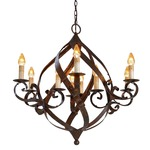 Gramercy Chandelier - Mayfair /