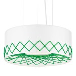 Cord Pendant - Green