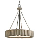 Greyledge Pendant - Old Iron / Grey