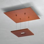 Zen Ceiling Light - Rust /