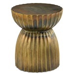 Rasi Table / Stool - Antique Brass