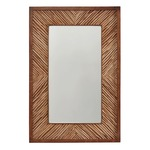 Wood Blend Mirror - Light Wood