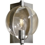 Pluto Wall Light - Vintage Platinum / Clear