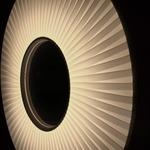Iris Vertical Pendant - Black / White