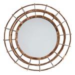 Sanibel Mirror - Nordic Grey / Blazed Rattan