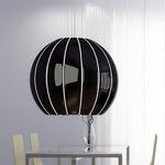 Citrus Large Pendant - Aluminum / Black Lacquer