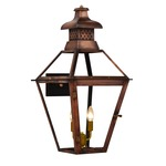 Pebble Hill Outdoor Wall Light - Antique Copper