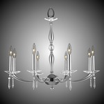 Kensington Chandelier - Pewter / Crystal