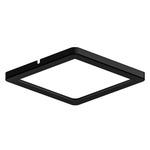 Ultra Slim Square Puck Light - Black