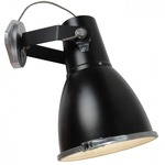 Stirrup 3 Wall Sconce - Black / Frosted