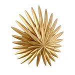 Savvy Wall Sconce - Vintage Gold Leaf