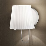 Lume Wall Sconce - OPEN BOX - Milky White/ Polished White