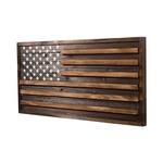 Rustic Flag Wall Art -